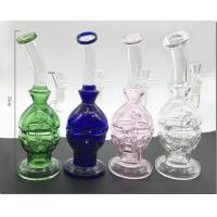 Buy cheap Glass Bongs Double Layer Glass Bong 9 Glass Pipes Faberge Eggs from wholesalers