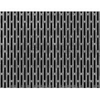Buy cheap slotted hole perforated metal for partitions screen from wholesalers