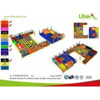 Buy cheap With Customized Design Indoor Trampoline Play Center from wholesalers