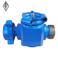 Buy cheap Plug valve with 1502 Hammer Union from wholesalers