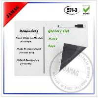 Buy cheap Magnetic dry erase calendar as your design from wholesalers