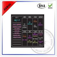 Buy cheap Magnetic weekly calendar for refrigerator from wholesalers