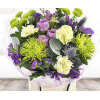 Buy cheap Flowers Blackcurrant and Lime Flower Gift Bag from wholesalers