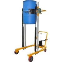 Buy cheap Manual or Electric Oil Drum Dumper with Dual Lifting Cylinder Design from wholesalers