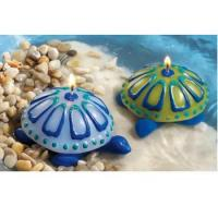 Buy cheap Azure Sea Turtle Candles (set of 2) from wholesalers