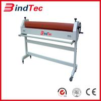 China Electronic & Manual Cold Laminator with stand on sale