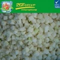 Buy cheap IQF diced cauliflower stem 10mm from wholesalers