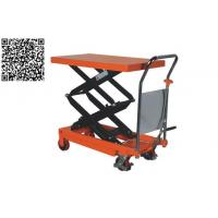 Buy cheap Double Scissor Hand Table Truck HTD from wholesalers