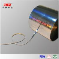 Buy cheap Tear Tape PET Custom holographic multi-color tear tape from wholesalers