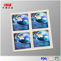 Buy cheap Customized design Custom printed security hologram labels from wholesalers