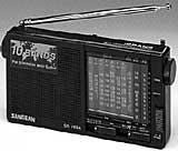 China Sangean 10 Band Analog Shortwave on sale