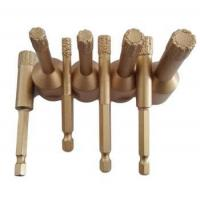 Buy cheap Vacuum Brazed Diamond Core Drill Bits for Porcelain Tile Drilling from wholesalers