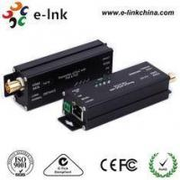 Buy cheap Gigabit EOC Ethernet Over Coax Converter Adapter With PoC POE For IP Camera from wholesalers