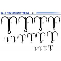 Buy cheap TREBLE/DOUBLE HOOK 8248 ROUND BENT TREBLE from wholesalers