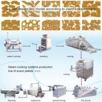 Buy cheap Snack Pellets Steam Cooking Production Line from wholesalers