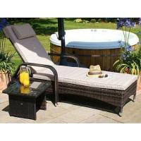 Buy cheap Marseille Rattan sun lounger set from wholesalers
