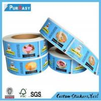 Buy cheap Hot sale food safe label,roll ice cream packaging sticker from wholesalers