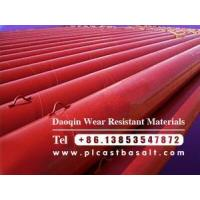 Buy cheap cast basalt lined steel pipe to be delivered product