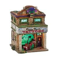 Buy cheap Department 56 Snow Village Halloween Rusty's Needle Lit House, 6.9-Inch product