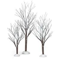 Buy cheap Department 56 Original Snow Village First Frost Trees, Set of 3 product