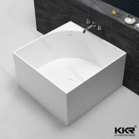 Square bathtubs popular square bathtubs for Resin tubs pros and cons