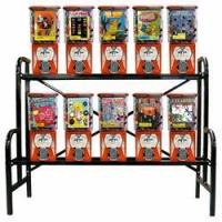 Buy cheap 10 Pro Line Metal Gumball Candy Rack from wholesalers