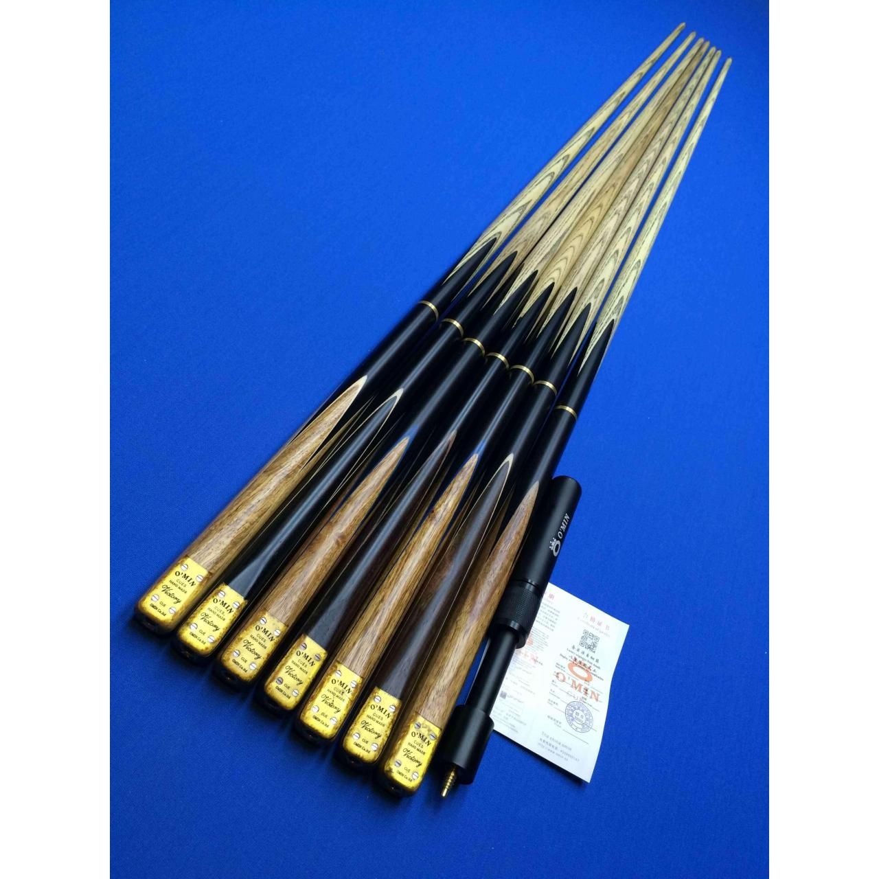 Buy cheap 3/4 pc snooker cue OM-01 from wholesalers