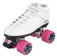 Buy cheap Roller Skates Riedell R3 Roller Skates Quad WHITE Speed Skates - White from wholesalers