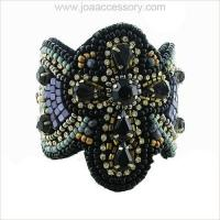 Buy cheap Cross Beaded Bangle Cuff Bracelet #053664 from wholesalers