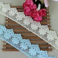 Buy cheap Cheap Embroidered Lace, Cotton Lace Trim Wholesale from wholesalers