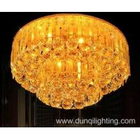 Buy cheap Design custom-made hotel gold crystal chandelier from wholesalers