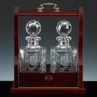 Buy cheap 2300.41T2: Inverness Crystal Traditional Panelled Decanters and Tantalus, Tantalus from wholesalers