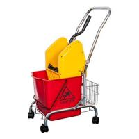 Buy cheap Down-press Single Mop Wringer Trolley With bucket For Home/Hotel from wholesalers