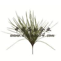 Buy cheap Artificial Plastic Small Silk Grass Bush Topiary With Pot Plants Wall from wholesalers