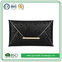 Buy cheap Womens Fashion Black Sparkly Sequin Evening Envelope Clutch Purse Bag from wholesalers
