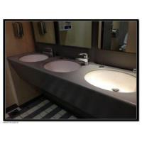 Buy cheap china Hotel project artificial stone solid surface bathroom countertop BBCT-004 from wholesalers