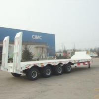 Buy cheap 60/80/100 Ton Lowboy Trailer, Low Flatbed Semi Trailer, Price Low Bed Trailers --VEHICLES CIMC from wholesalers