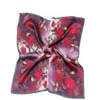 Buy cheap China Factory High Quality Silk Printed Square Scarf Lady from wholesalers