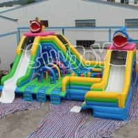 Buy cheap Double Fish Water Slide from wholesalers