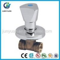 Buy cheap CP brass concealed stop cock valve from wholesalers