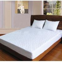 Buy cheap napped fabric quilted waterproof mattress protector from wholesalers