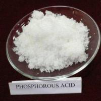 Buy cheap Plastic chemicals Phosphorous Acid from wholesalers