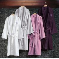 Buy cheap 100% Cotton wholesale Hotel Terry Bathrobe for men and women from wholesalers