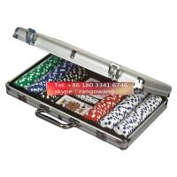 Buy cheap 400pc Poker Set in Aluminum Case Poker Chip Small Carry Case from wholesalers