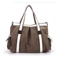 Buy cheap Canvas Cotton Lady Travel Shoulder Bag 002 from wholesalers