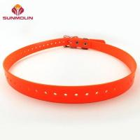 Buy cheap Orange colored TPU coated pet collar from Wholesalers