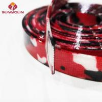 Buy cheap Camouflage red tpu / pvc coated nylon webbing from wholesalers
