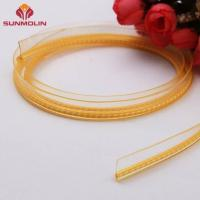 Buy cheap Yellow tpu coated nylon piping tape from wholesalers