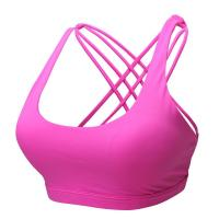 Buy cheap CHJPro Seamless low-impact workouts Sport Bra Cross Back Yoga Running Bralette from wholesalers