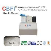 Buy cheap 500 Kg Automatic Fresh Water Flake Ice Machine on Land for Sea Food Cooling product